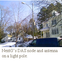 DAS on lightpole NextG