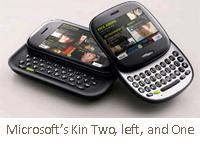 Microsoft kin one and two turkeys