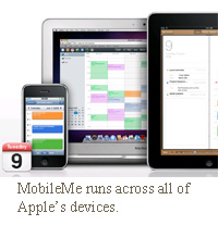 apple mobileme cloud services