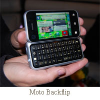 motorola backflip android