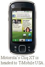 Motorola Cliq XT Tmobile