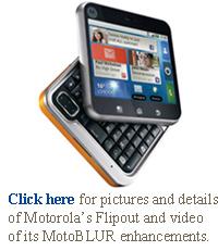Motorola flipout Motoblur