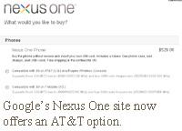 Google Nexus one AT&T