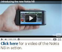 Nokia N8 vidoe