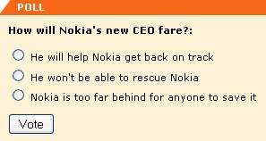 How will Nokia's CEO fare?