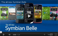 Click here for a video of Nokia's Symbian Belle in action.