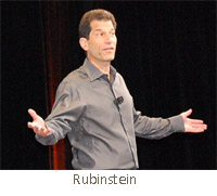 current HP executive and former Palm CEO Jon Rubinstein