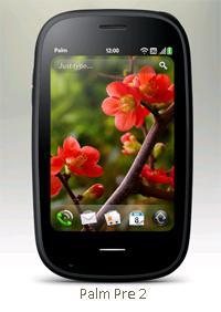 HP Palm Pre 2 webOS 2.0