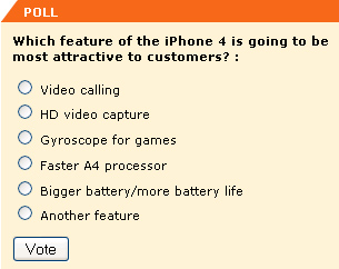 what is the iphone 4's most impressive feature?