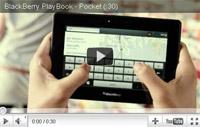 RIM BlackBerry playbook video