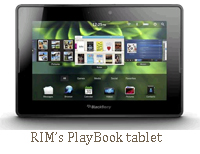 RIM BlackBerry 4g playbook tablet sprint clearwire