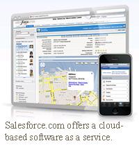salesforce.com software as a service saas