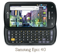 Samsung epic 4g for sprint nextel