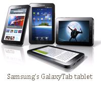 Samsung's GalaxyTab tablet
