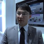 I.P. Hong, head of marketing for Samsung's telecommunications business