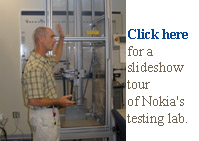 nokia phone testing lab