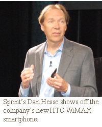 dan hesse sprint evo 4g wimax htc android