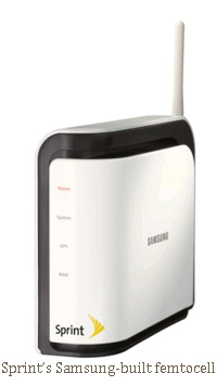 sprint airave samsung femtocell