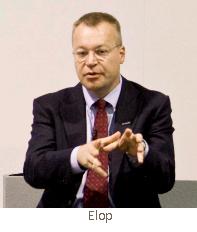 Microsoft executive Stephen Elop