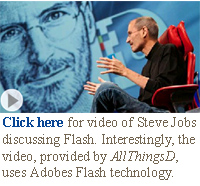 Apple Steve Jobs flash video interview