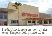 target retail store radioshack