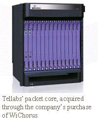 tellabs wichorus packet core
