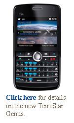 terrestar genus smartphone