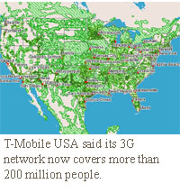 tmobile usa 3g coverage map