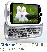 t-mobile mytouch slide 3g