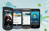 U.S. Celullar android smartphones