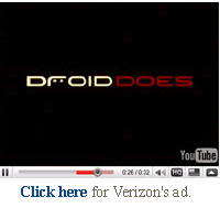 verizon droid motorola video