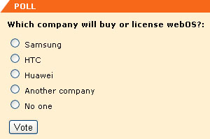 which company will buy or license webos?