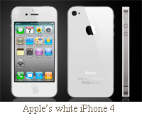 Apple's white iPhone set for launch this April