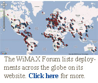 wimax deployment map
