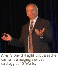 AT&T's Vice President of Emerging Devices David Haight