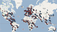 wimax deployements map