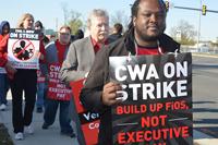 CWA strikers