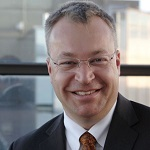 Stephen Elop, executive vice president of devices and services, Nokia