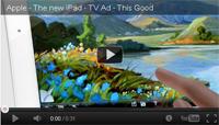 Apple TV ad new iPad LTE