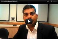 video demo of BlackBerry 10