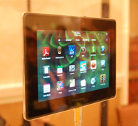 blackberry playbook hspa lte research in motion