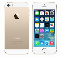 gold colored iphone 5s