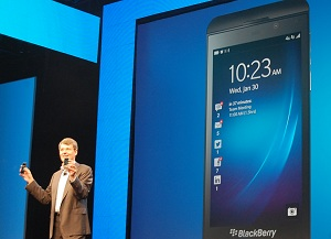 BlackBerry's Heins cheered by Z10 success in Europe, but analyst disagrees