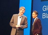 RIM CEO Thorsten Heins  Alicia Keys .