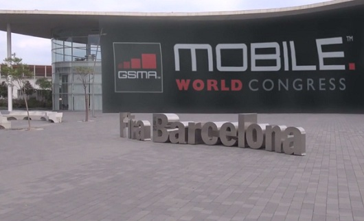 MWC 2013 Barcelona entrance