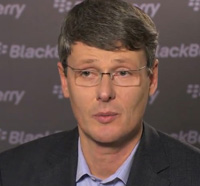 Research In Motion blackBerry CEO Thorsten Heins