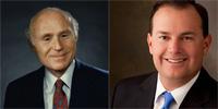 Sen. Herb Kohl (D-Wis.) and Sen. Mike Lee (R-Utah)
