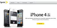 Sprint's iPhone Apple