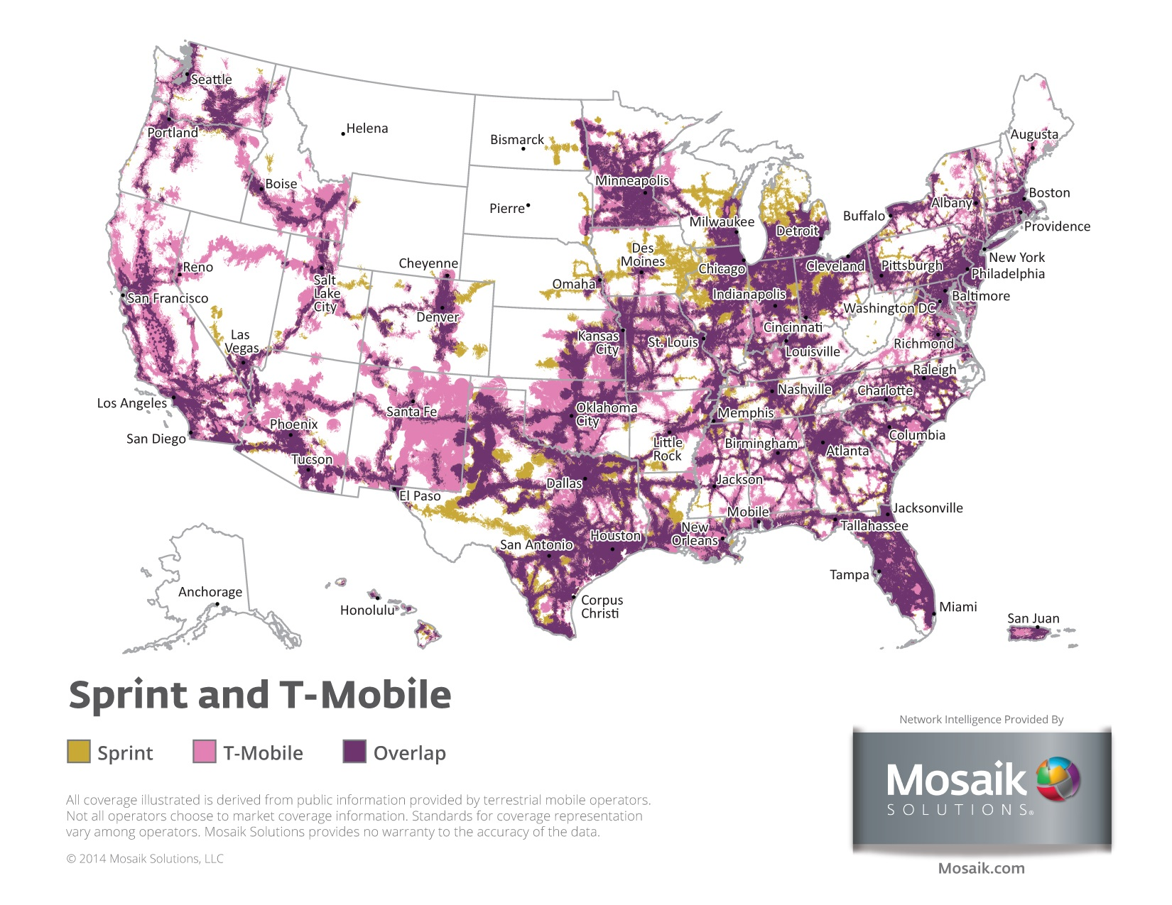 Coverage Maps For All Prepaid Carriers Prepaid Phone News - T mobile coverage map florida