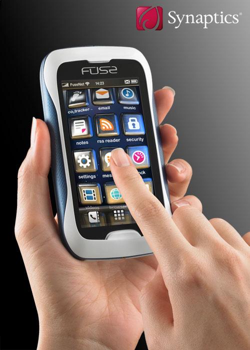 synaptics fuse concept phones